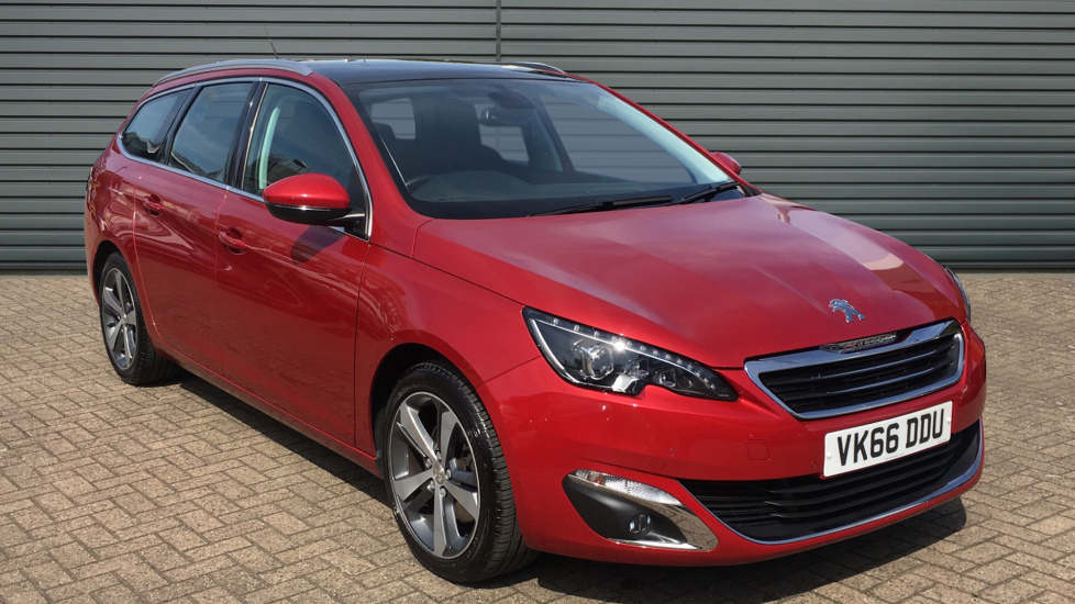 Used Peugeot 308 SW Estate 2.0 BlueHDi Allure EAT6 5dr