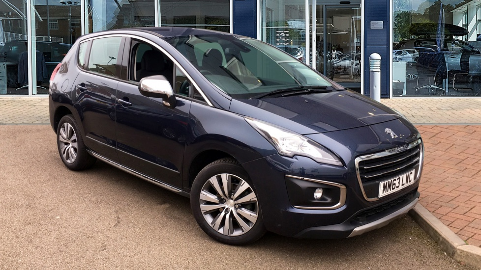 Used Peugeot 3008 SUV 1.6 HDi FAP Active SUV 5dr