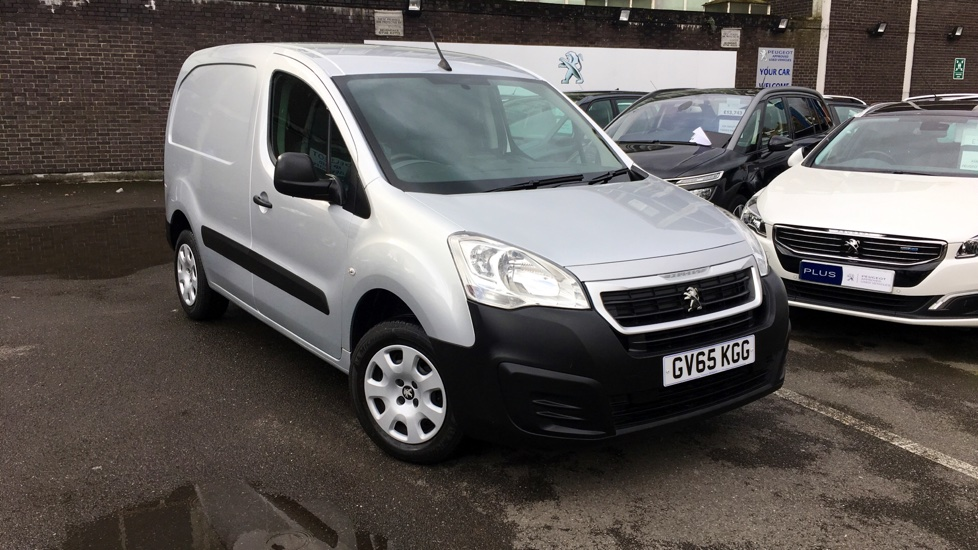 Used Peugeot PARTNER Panel Van 1.6 HDi Professional L1 850 4dr
