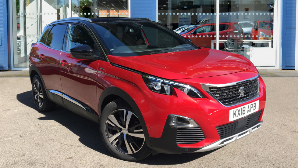 Used Peugeot 3008 SUV SUV 1.5 BlueHDi GT Line (s/s) 5dr