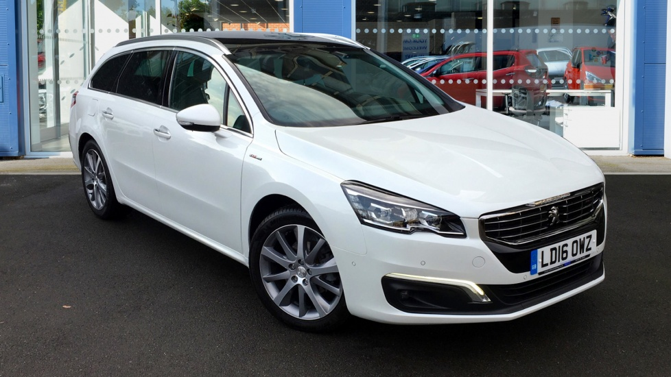 Used Peugeot 508 SW Estate 1.6 BlueHDi GT Line Auto 5dr (start/stop)