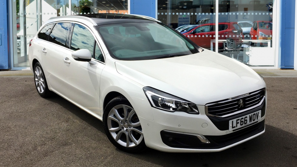 Used Peugeot 508 SW Estate 1.6 BlueHDi Allure Auto 5dr (start/stop)