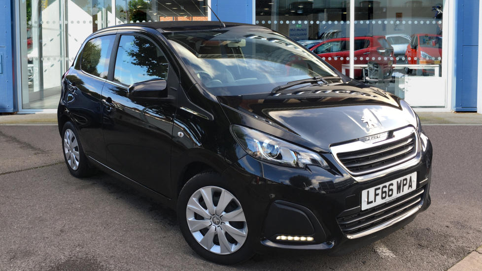 Used Peugeot 108 Convertible 1.0 VTi Active Top! 5dr