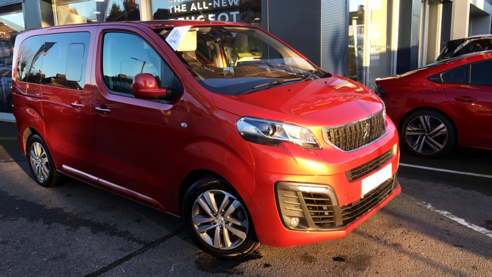 Used Peugeot TRAVELLER MPV 2.0 BlueHDi Allure 5dr (Compact)