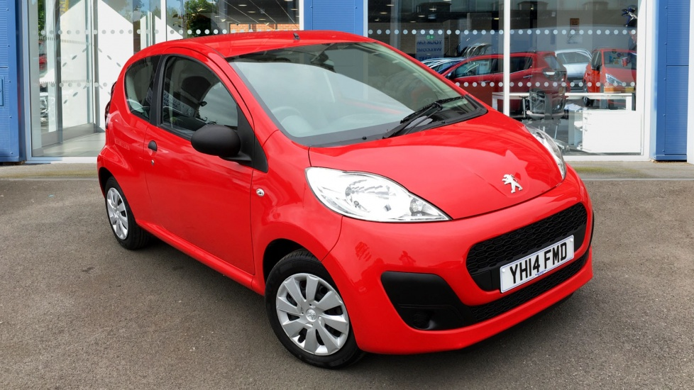 Used Peugeot 107 Hatchback 1.0 12v Access 3dr