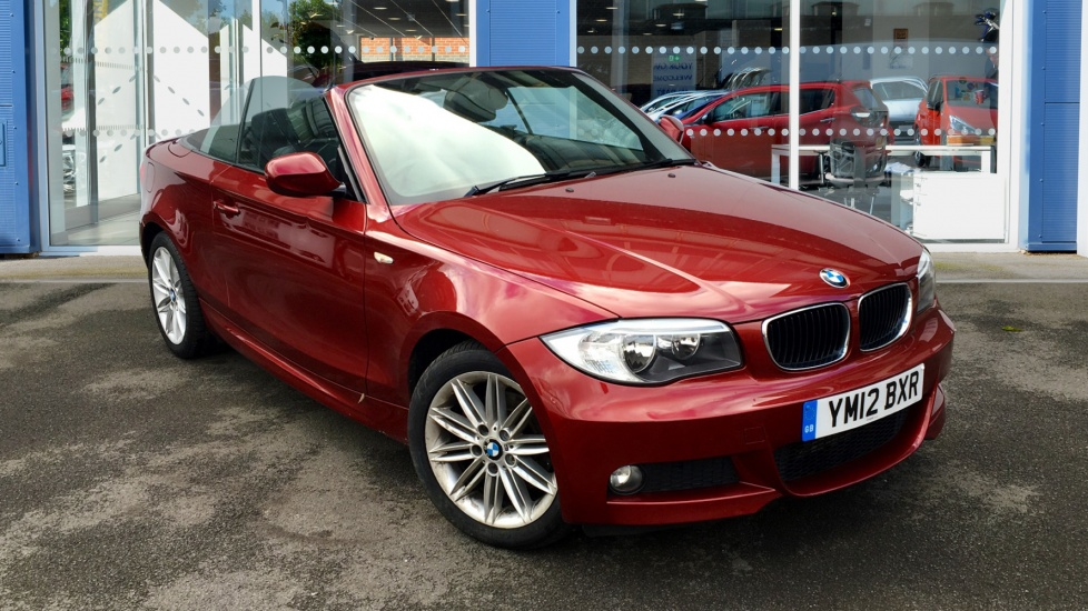 Used BMW 1 SERIES Convertible 2.0 120d M Sport 2dr
