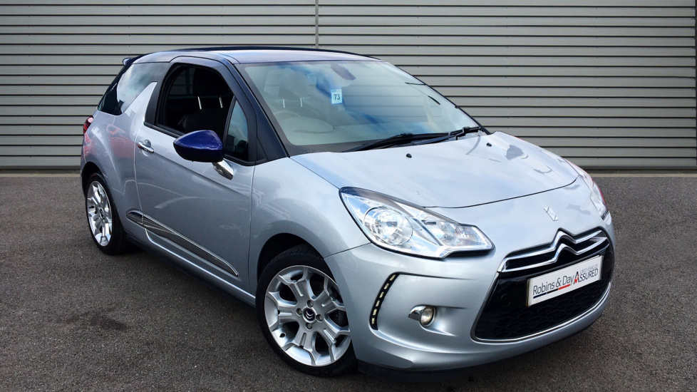 Used Citroen DS3 Hatchback 1.6 BlueHDi DSire Blue 3dr