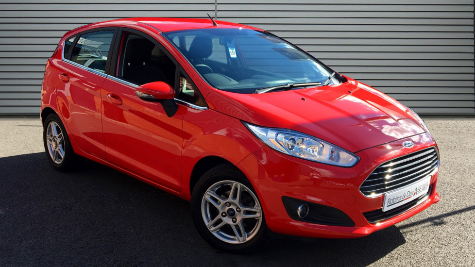 Used Ford FIESTA Hatchback 1.25 Zetec 5dr