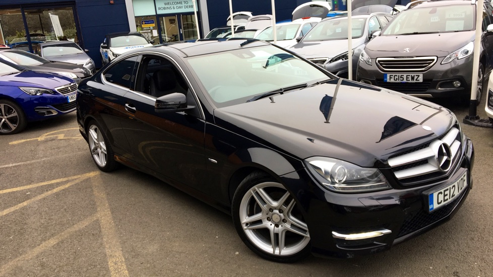 Used Mercedes-benz C CLASS Coupe 2.1 C250 CDI BlueEFFICIENCY AMG Sport 2dr