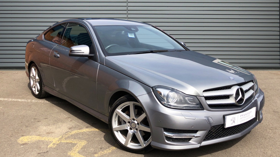 Used Mercedes-benz C CLASS Coupe 2.1 C220 CDI AMG Sport Edition (Premium) 7G-Tronic Plus 2dr
