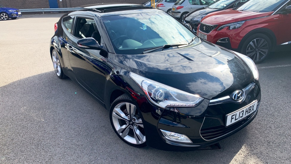 Used Hyundai VELOSTER Coupe 1.6 Sport (Media Pack) 4dr