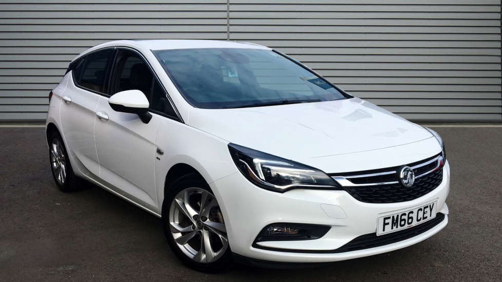 Used Vauxhall ASTRA Hatchback 1.4 i 16v Turbo SRi Nav Hatchback 5dr