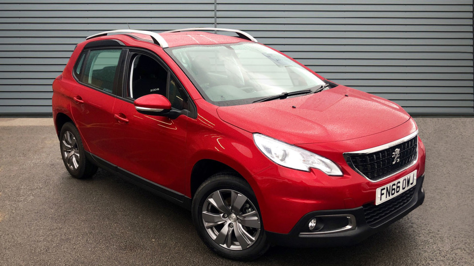Used Peugeot 2008 SUV 1.6 BlueHDi Active (s/s) 5dr