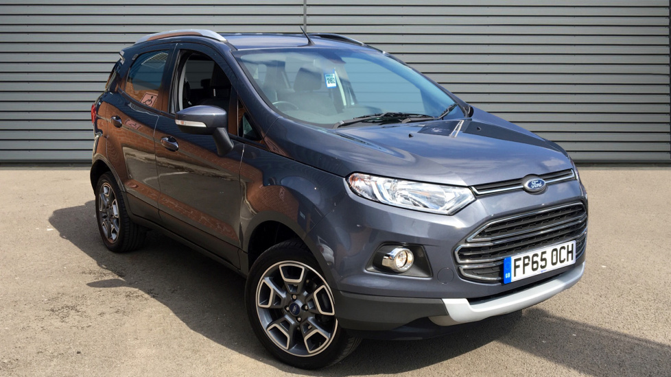 Used Ford ECOSPORT SUV 1.0 T EcoBoost Titanium 5dr