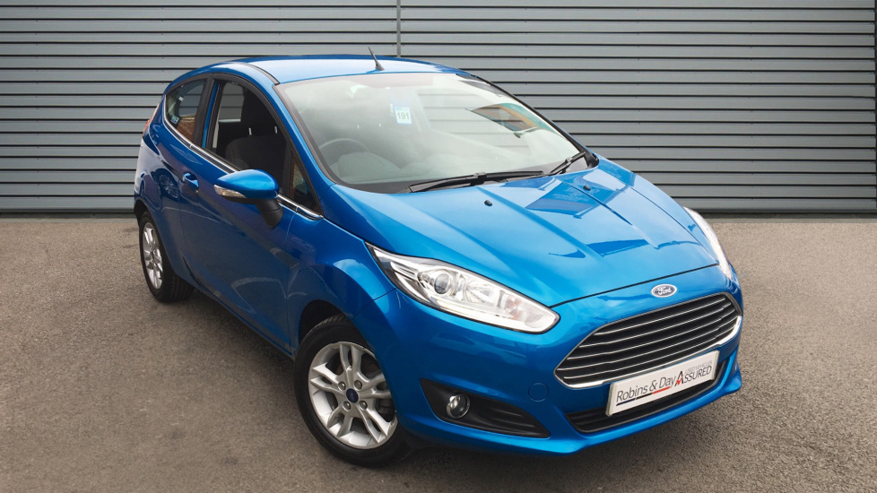 Used Ford FIESTA Hatchback 1.25 Zetec Hatchback 3dr