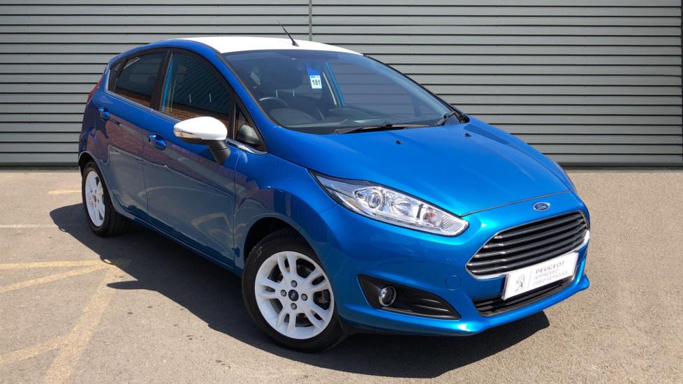 Used Ford FIESTA Hatchback 1.25 Zetec Blue Edition 5dr