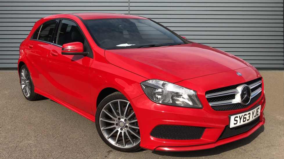Used Mercedes-benz A CLASS Hatchback 1.5 A180 CDI AMG Sport 5dr