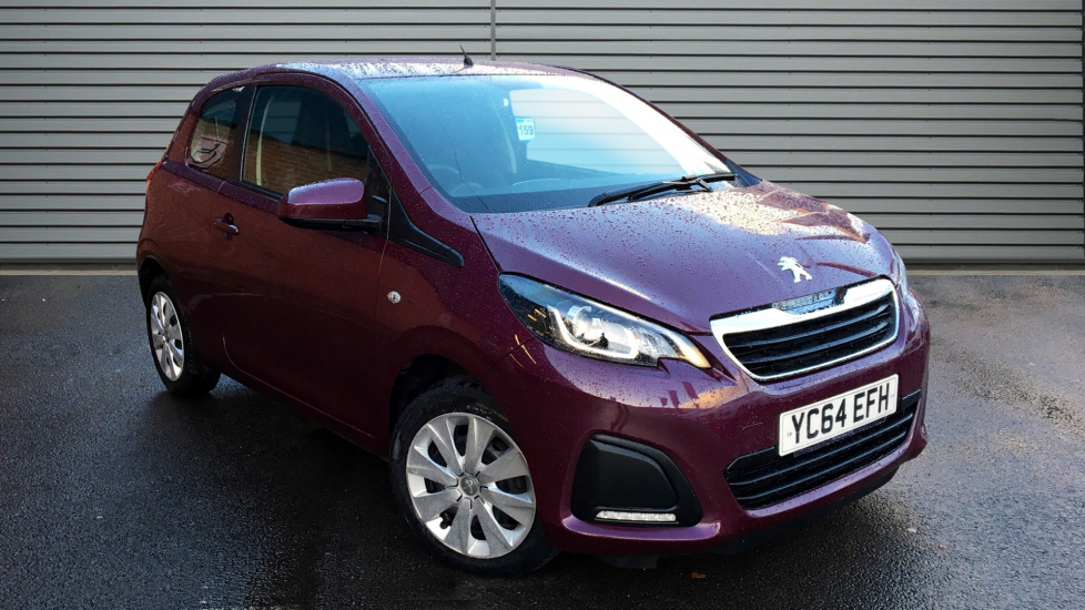 Used Peugeot 108 Hatchback 1.0 Active 3dr (start/stop)