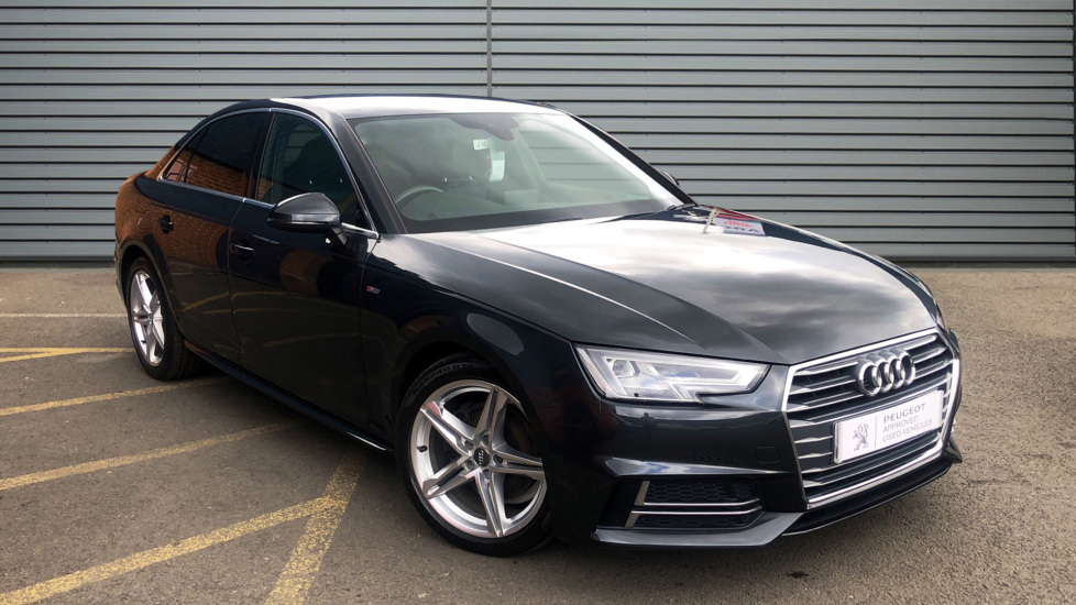 Used Audi A4 Saloon 2.0 TDI S line (s/s) 4dr