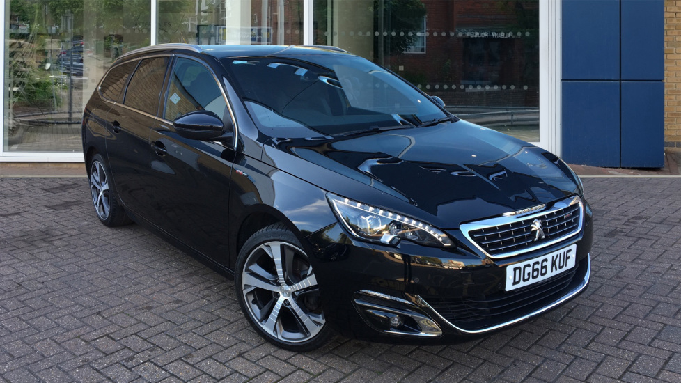 Used Peugeot 308 SW Estate 1.2 PureTech GT Line EAT6 (s/s) 5dr