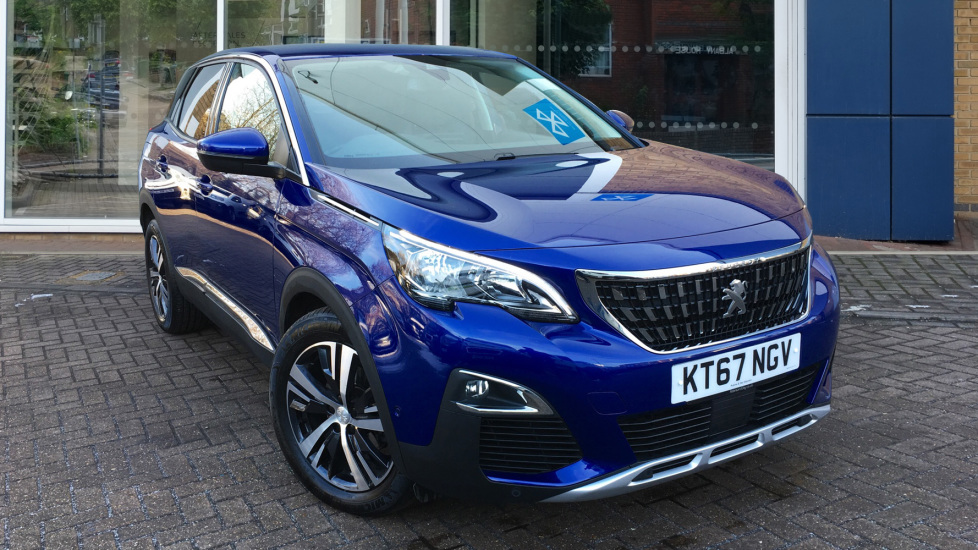 Used Peugeot 3008 SUV SUV 1.6 BlueHDi Allure EAT6 (s/s) 5dr