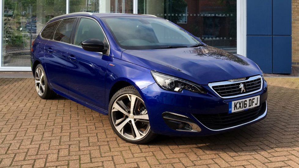 Used Peugeot 308 SW Estate 2.0 BlueHDi GT Line 5dr