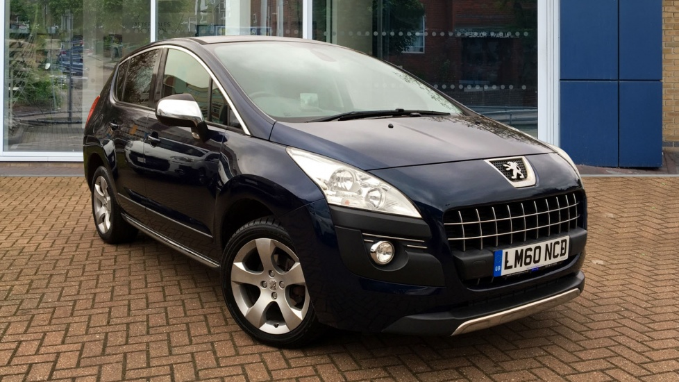Used Peugeot 3008 Hatchback 1.6 HDi FAP Exclusive EGC 5dr