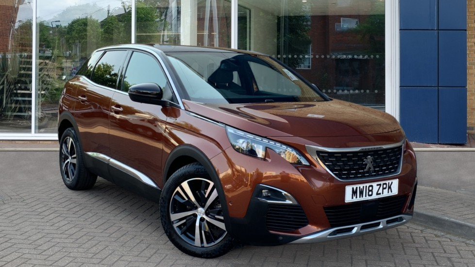 Used Peugeot 3008 SUV SUV 1.6 THP GT Line EAT (s/s) 5dr