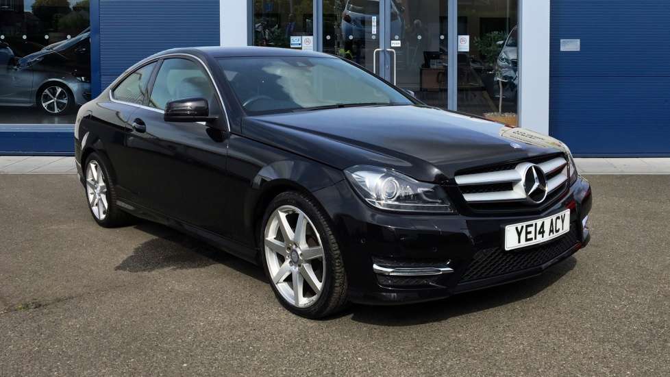 Used Mercedes-benz C CLASS Coupe 2.1 C220 CDI AMG Sport 7G-Tronic Plus 2dr