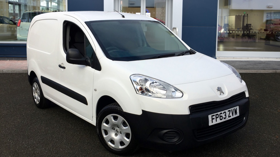 Used Peugeot PARTNER Panel Van 1.6 HDi S L1 850 4dr