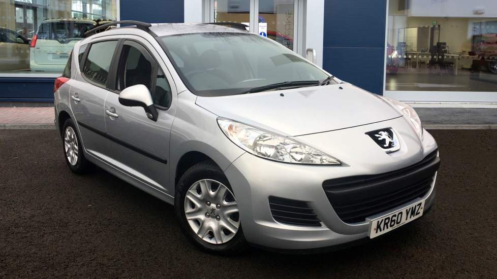Used Peugeot 207 SW Estate 1.6 HDi FAP S 5dr (a/c)