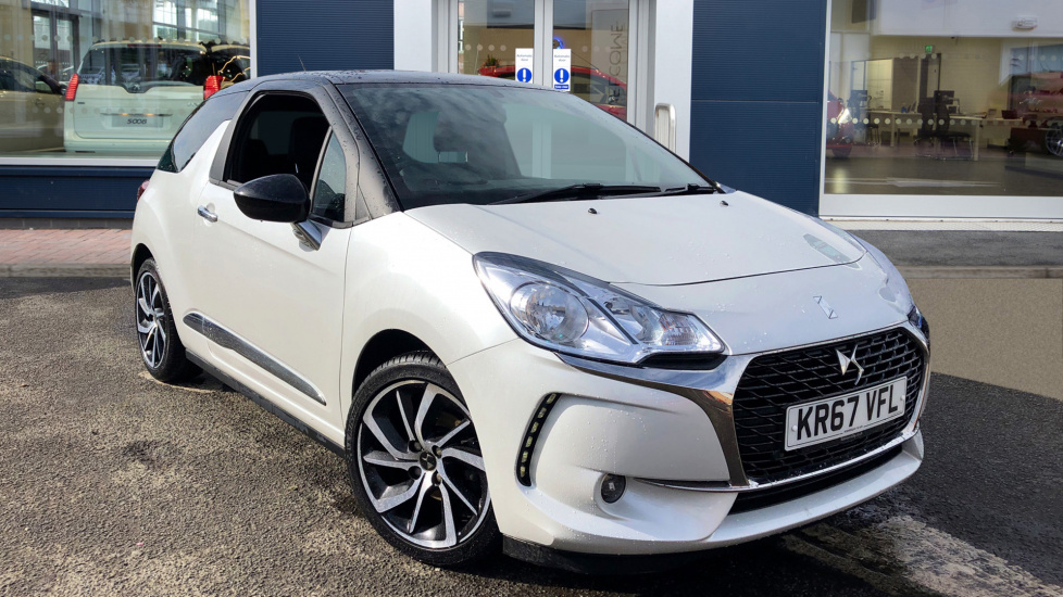 Used DS Automobiles DS 3 Hatchback 1.6 BlueHDi Connected Chic (s/s) 3dr
