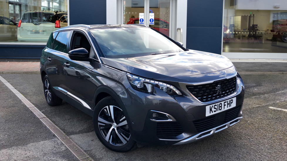 Used Peugeot 5008 SUV 2.0 BlueHDi GT Line (s/s) 5dr