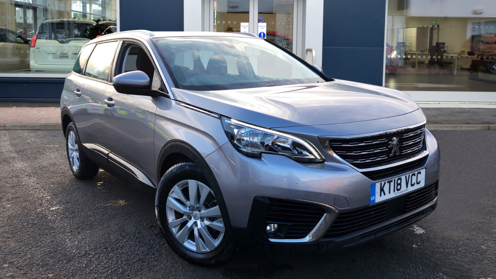 Used Peugeot 5008 SUV 1.6 BlueHDi Active (s/s) 5dr