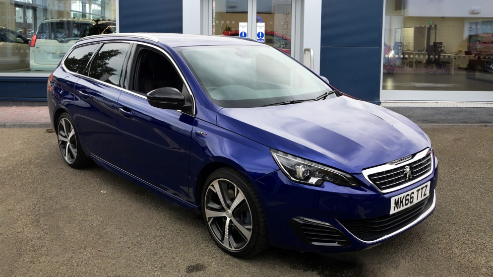 Used Peugeot 308 SW Estate 2.0 BlueHDi GT EAT6 5dr (start/stop)
