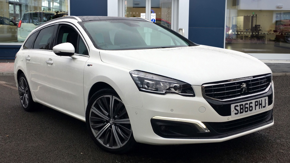 Used Peugeot 508 SW Estate 2.0 BlueHDi GT Auto 5dr (start/stop)