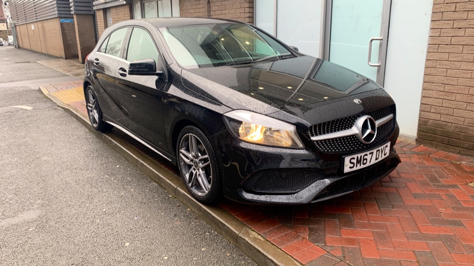 Used Mercedes-benz A CLASS Hatchback 1.5 A180d AMG Line (Executive) 7G-DCT (s/s) 5dr