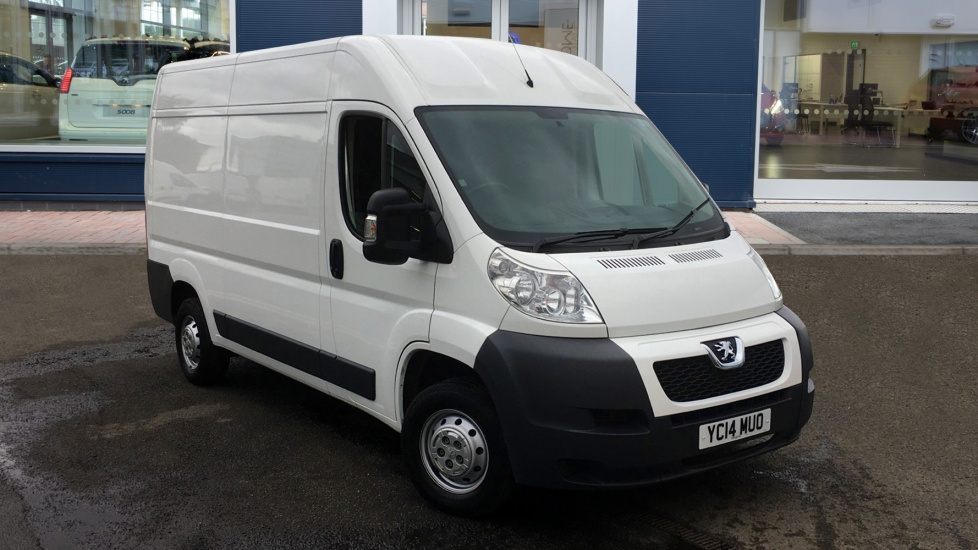 Used Peugeot BOXER Panel Van 2.2 HDi 335 L2 H2 High Roof Van 4dr
