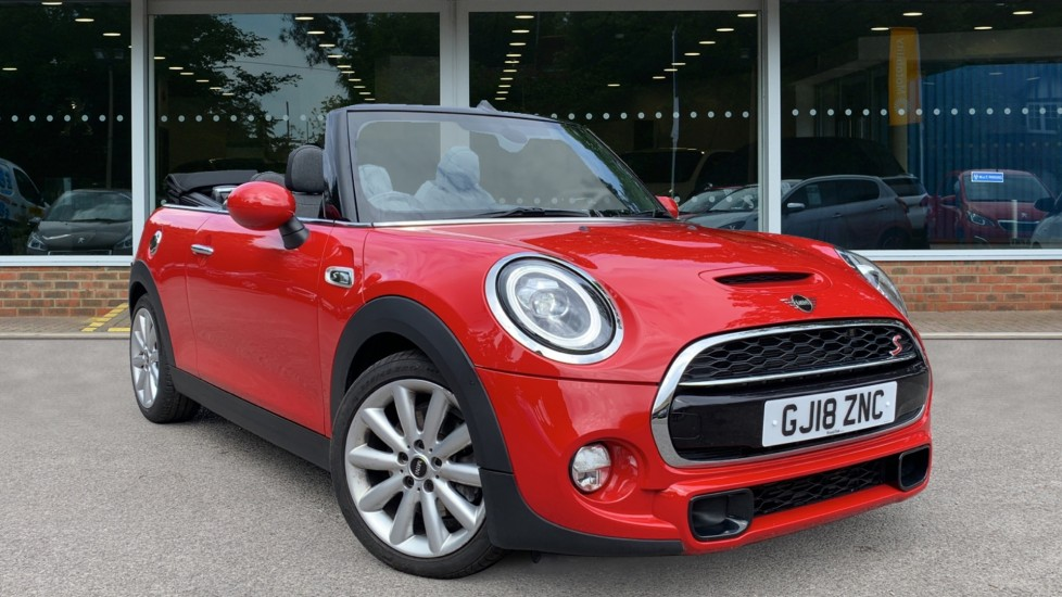 Used Mini Convertible Convertible 2.0 Cooper S Steptronic (s/s) 2dr
