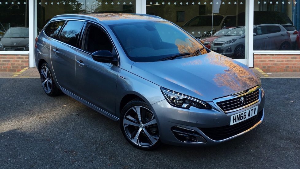 Used Peugeot 308 SW Estate 2.0 BlueHDi GT Line EAT6 5dr (start/stop)