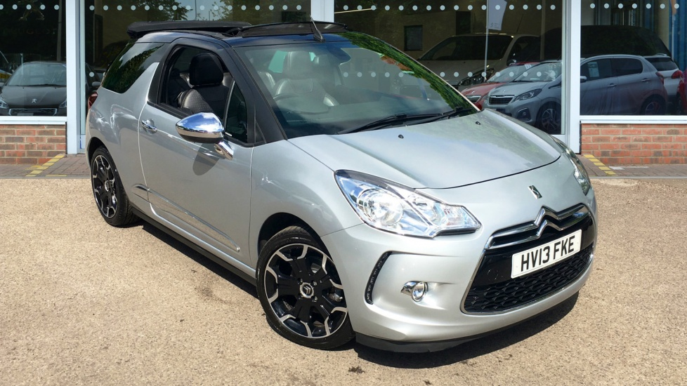Used Citroen DS3 CABRIO Convertible 1.6 THP DSport Plus 2dr