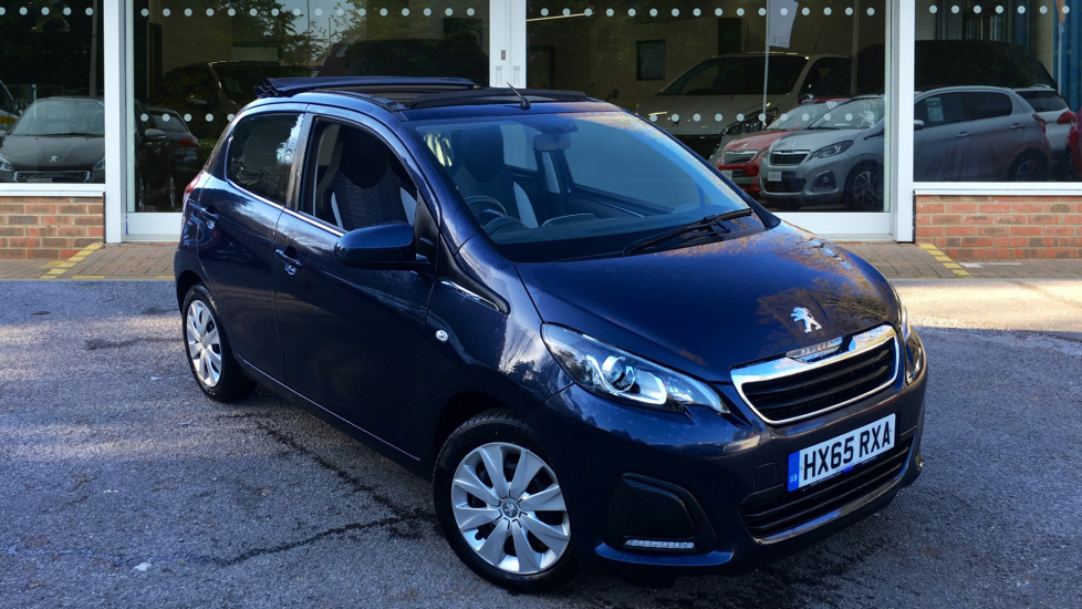 Used Peugeot 108 Convertible 1.0 Active TOP! 2-Tronic 5dr