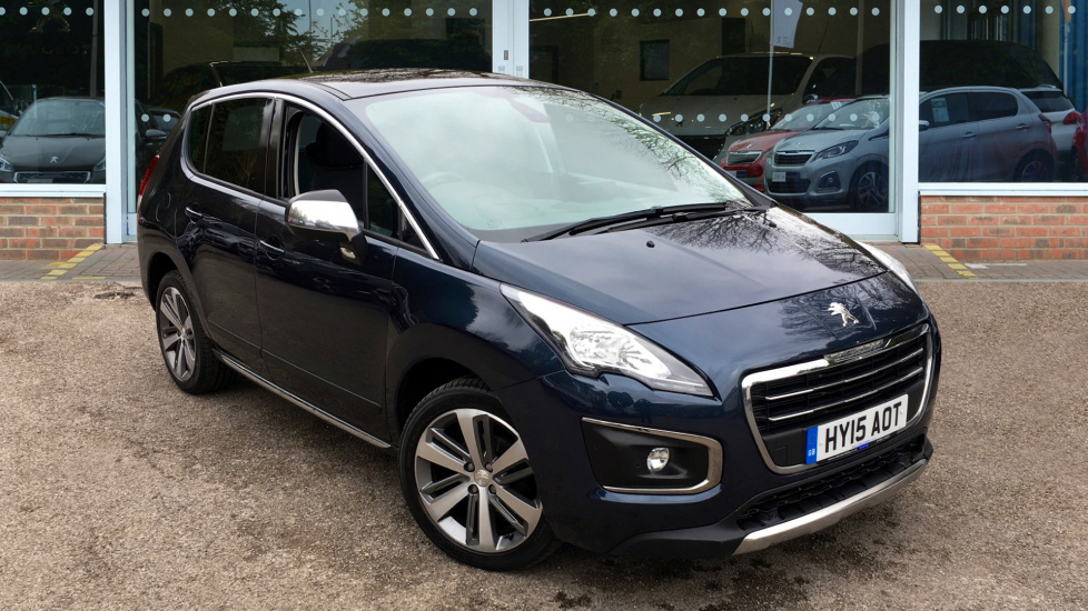 Used Peugeot 3008 SUV 1.6 HDi Allure ETG (s/s) 5dr