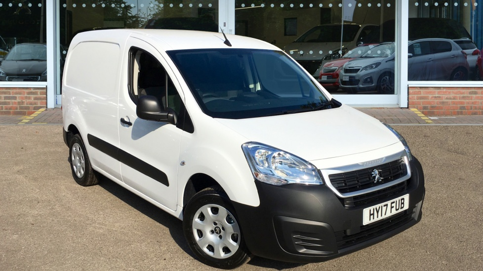 Used Peugeot PARTNER Panel Van 1.6 BlueHDi (Eu6) Professional L1 854 5dr