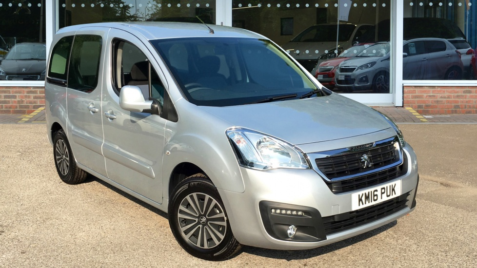 Used Peugeot PARTNER TEPEE MPV 1.6 BlueHDi Tepee Allure 5dr (start/stop)