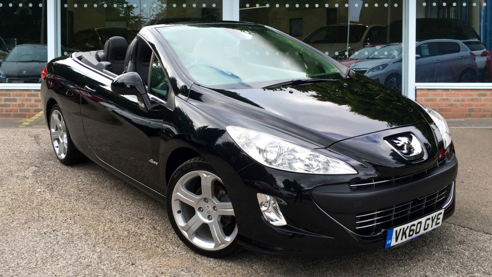 Used Peugeot 308 CC Convertible 1.6 VTi Allure 2dr