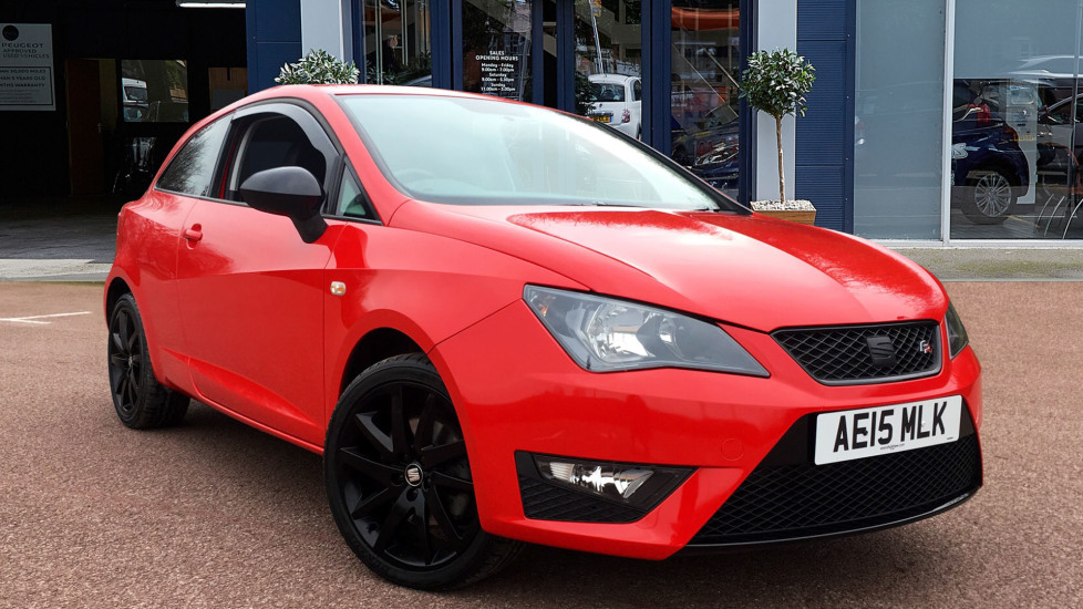 Used Seat IBIZA Hatchback 1.4 TSI ACT FR Black SportCoupe (s/s) 3dr