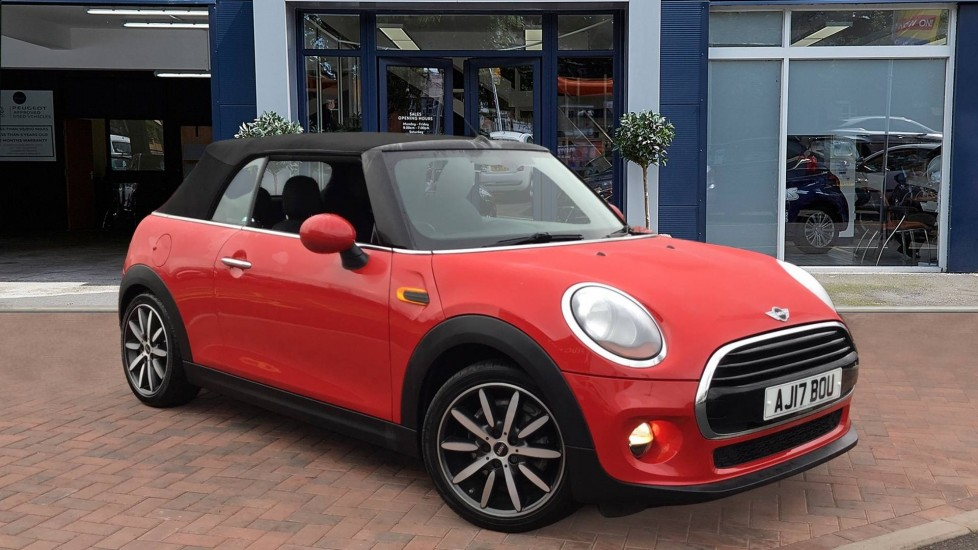 Used Mini Convertible Convertible 1.5 Cooper (s/s) 2dr
