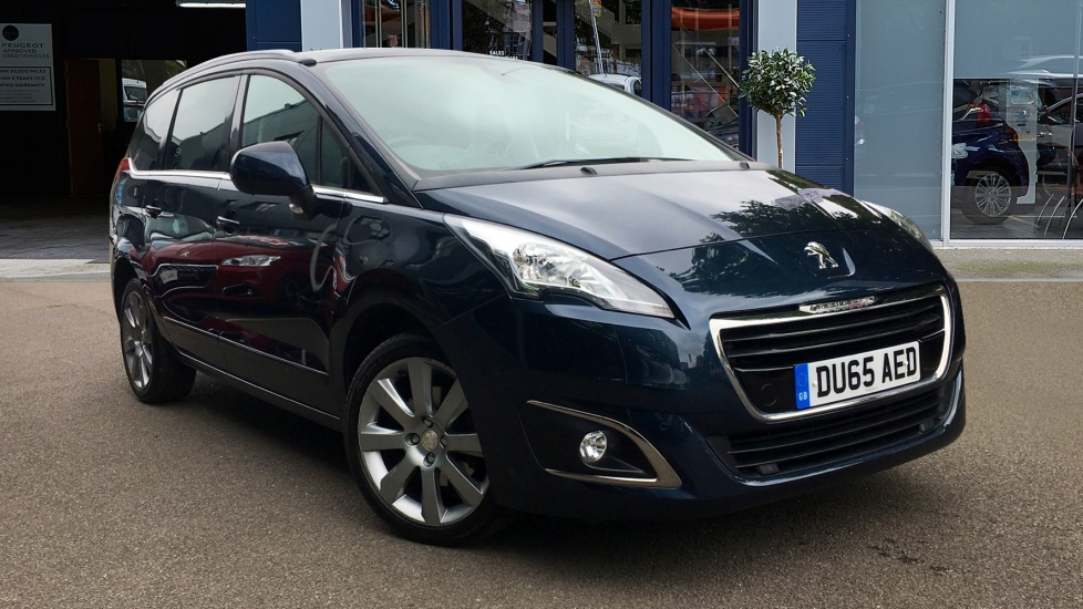 Used Peugeot 5008 MPV 1.6 BlueHDi Allure 5dr (start/stop)