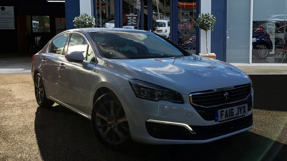 Used Peugeot 508 Saloon 1.6 BlueHDi GT Line Auto 4dr (start/stop)